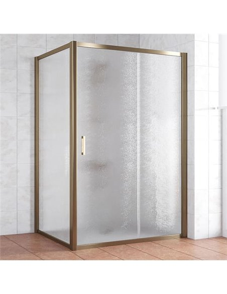 Vegas Glass dušas stūris ZP+ZPV 130*100 05 02 - 1