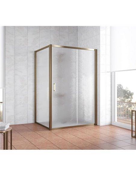Vegas Glass dušas stūris ZP+ZPV 130*100 05 02 - 2