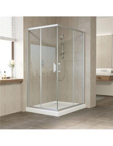 Vegas Glass dušas stūris ZA-F 110*100 07 01 - 1