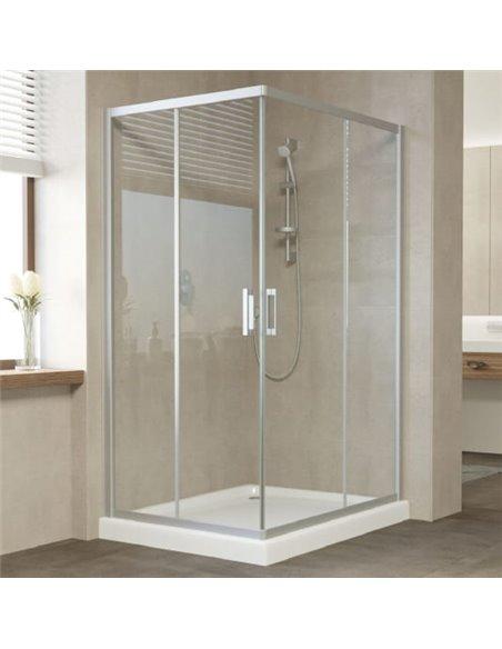 Vegas Glass dušas stūris ZA-F 110*100 07 01 - 2