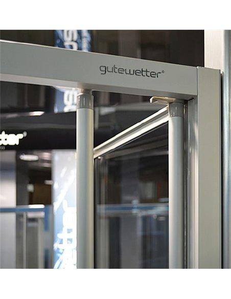 GuteWetter dušas stūris Practic Square GK-404 labā - 2
