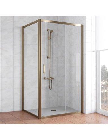 Vegas Glass dušas stūris ZP+ZPV 100*100 05 01 - 1