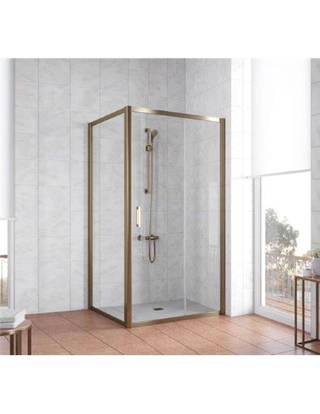 Vegas Glass dušas stūris ZP+ZPV 100*100 05 01 - 2