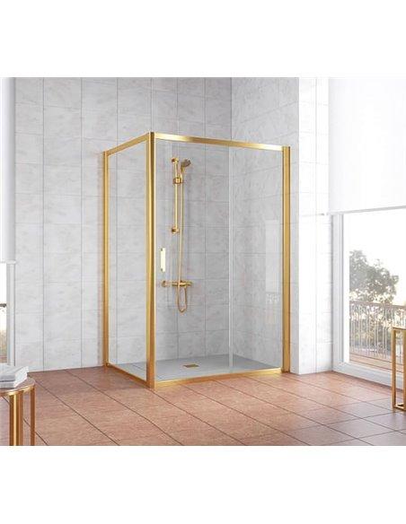 Vegas Glass dušas stūris ZP+ZPV 140*100 09 01 - 2
