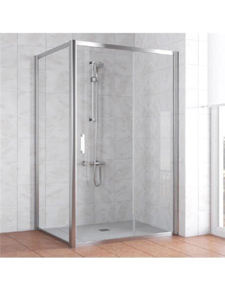 Vegas Glass dušas stūris ZP+ZPV 110*100 08 01 - 1