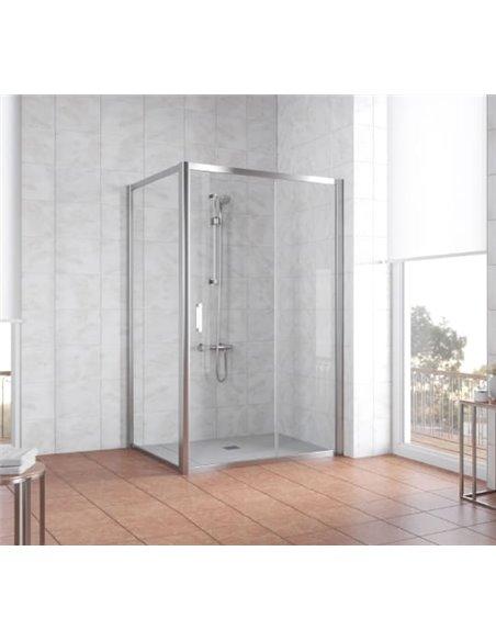 Vegas Glass dušas stūris ZP+ZPV 110*100 08 01 - 2