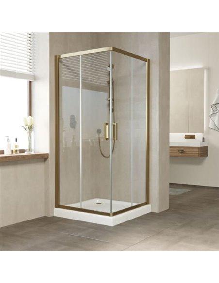 Vegas Glass dušas stūris ZA 80 05 01 - 2
