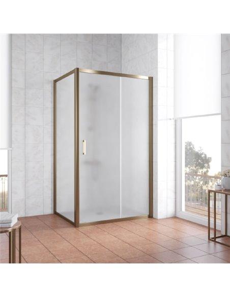 Vegas Glass dušas stūris ZP+ZPV 110*80 05 10 - 2