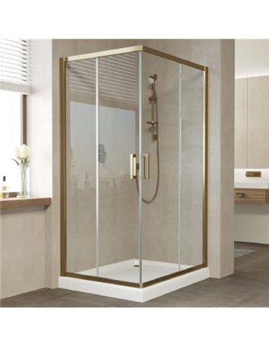 Vegas Glass dušas stūris ZA-F 90*80 05 01 - 1