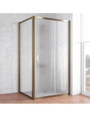 Vegas Glass dušas stūris ZP+ZPV 100*100 05 02 - 1