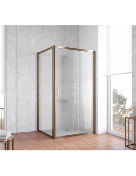 Vegas Glass dušas stūris ZP+ZPV 100*100 05 02 - 2
