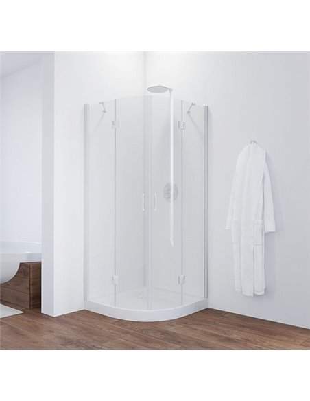 Vegas Glass dušas stūris AFS 0090 01 01 - 2