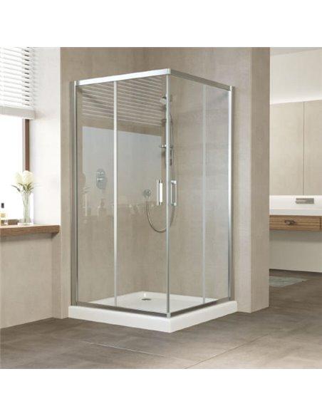 Vegas Glass dušas stūris ZA 0110 08 01 - 1