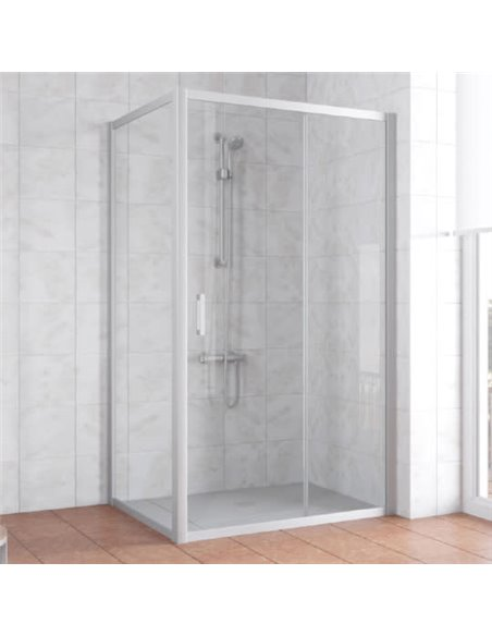 Vegas Glass dušas stūris ZP+ZPV 100*90 07 01 - 1
