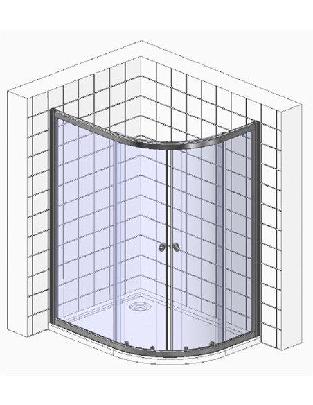 Gemy dušas stūris Victoria S30182 - 3