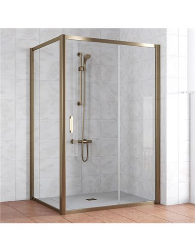 Vegas Glass dušas stūris ZP+ZPV 140*100 05 01 - 1