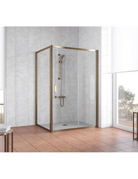 Vegas Glass dušas stūris ZP+ZPV 140*100 05 01 - 2