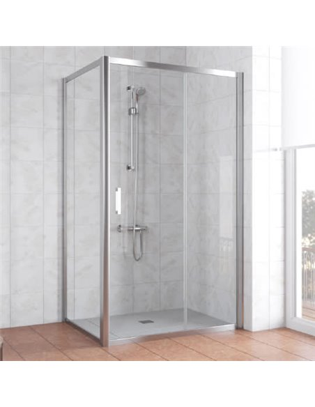 Vegas Glass dušas stūris ZP+ZPV 110*80 08 01 - 1