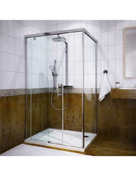 GuteWetter dušas stūris Slide Rectan GK-863A kreisā - 1