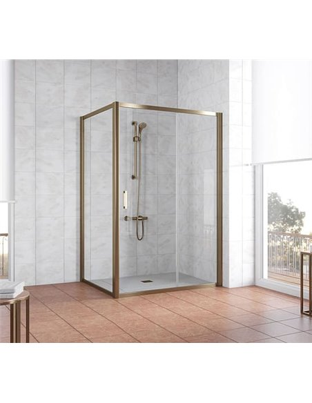 Vegas Glass dušas stūris ZP+ZPV 130*100 05 01 - 2