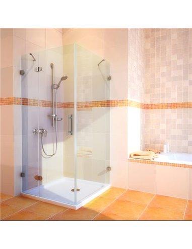 GuteWetter dušas stūris Lux Square GK-003 левый - 1