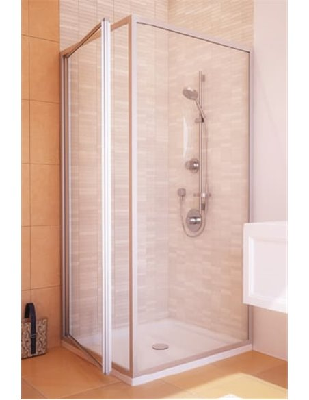 GuteWetter dušas stūris Practic Rectan GK-401 kreisā - 2