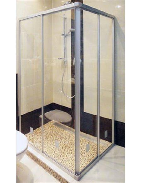 GuteWetter dušas stūris Practic Rectan GK-422 kreisā - 2