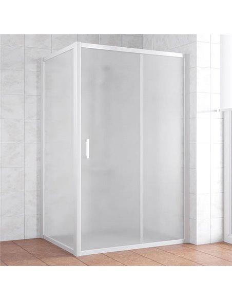 Vegas Glass dušas stūris ZP+ZPV 140*90 01 10 - 1