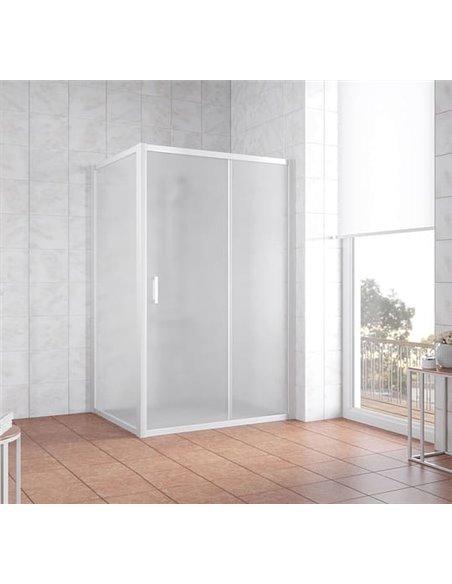 Vegas Glass dušas stūris ZP+ZPV 140*90 01 10 - 2