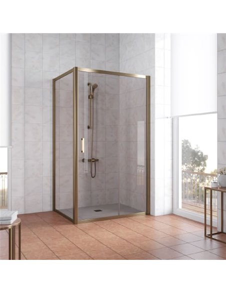 Vegas Glass dušas stūris ZP+ZPV 100*70 05 05 - 2