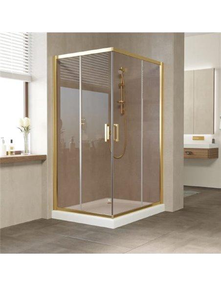 Vegas Glass dušas stūris ZA-F 100*90 09 05 - 1