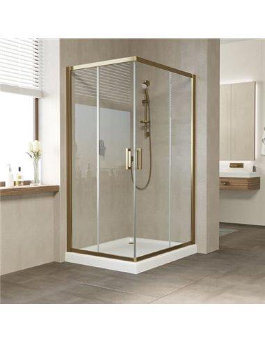Vegas Glass dušas stūris ZA-F 100*80 05 01 - 1