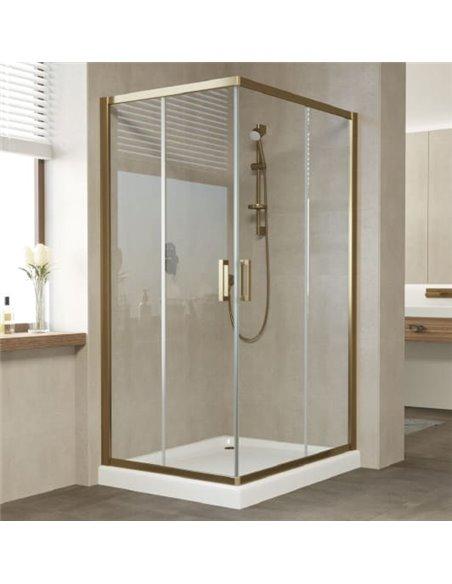 Vegas Glass dušas stūris ZA-F 100*80 05 01 - 2