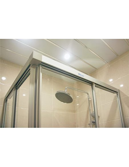 GuteWetter dušas stūris Practic Rectan GK-422 labā - 3