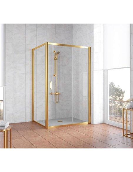 Vegas Glass dušas stūris ZP+ZPV 120*90 09 01 - 2
