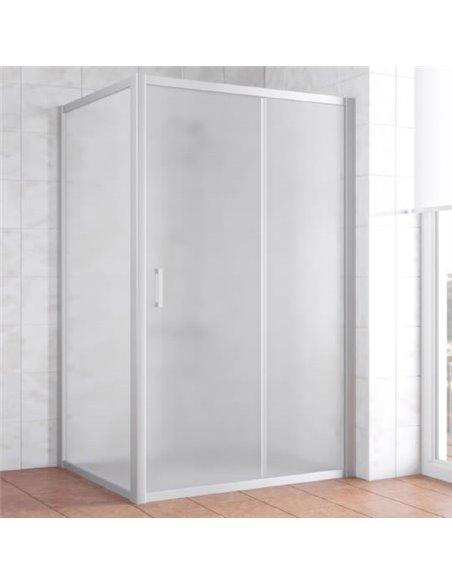 Vegas Glass dušas stūris ZP+ZPV 110*100 07 10 - 1