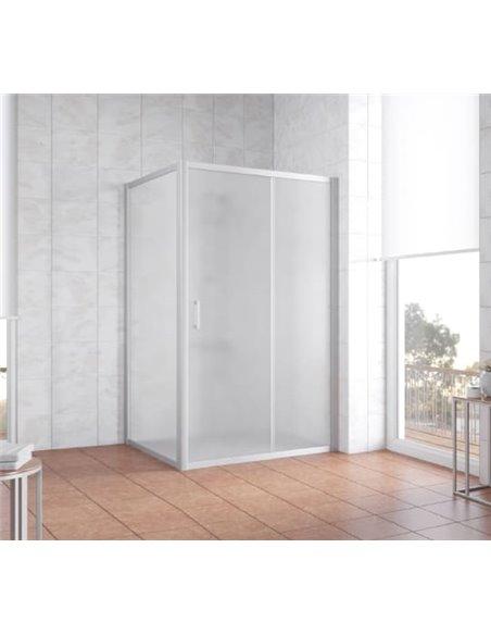 Vegas Glass dušas stūris ZP+ZPV 110*100 07 10 - 2