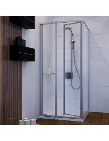 GuteWetter dušas stūris Practic Square GK-402 kreisā - 1