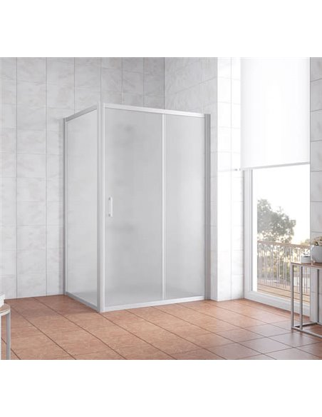 Vegas Glass dušas stūris ZP+ZPV 140*80 07 10 - 2