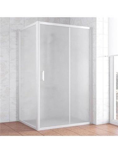 Vegas Glass dušas stūris ZP+ZPV 110*100 01 10 - 1