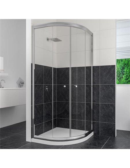 RGW dušas stūris Classic CL-51 (765-790)x(765-790)x1850 - 1