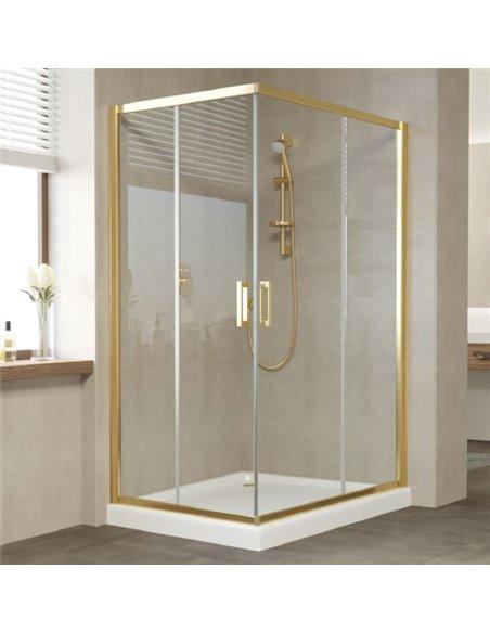 Vegas Glass dušas stūris ZA-F 120*80 09 01 - 2