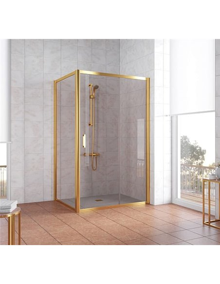 Vegas Glass dušas stūris ZP+ZPV 120*90 09 05 - 2
