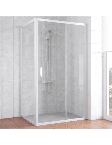 Vegas Glass dušas stūris ZP+ZPV 100*70 01 01 - 1