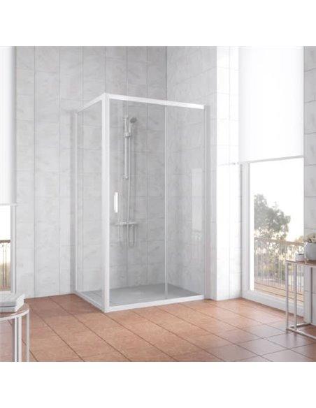 Vegas Glass dušas stūris ZP+ZPV 100*70 01 01 - 2