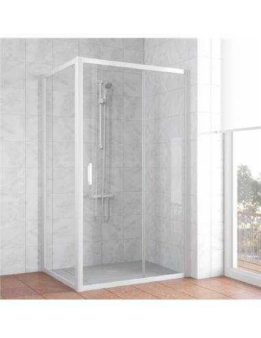 Vegas Glass dušas stūris ZP+ZPV 100*90 01 01 - 1
