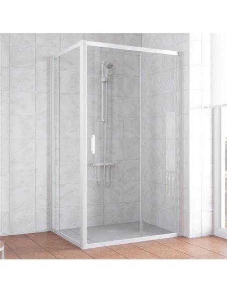 Vegas Glass dušas stūris ZP+ZPV 100*90 01 01 - 3