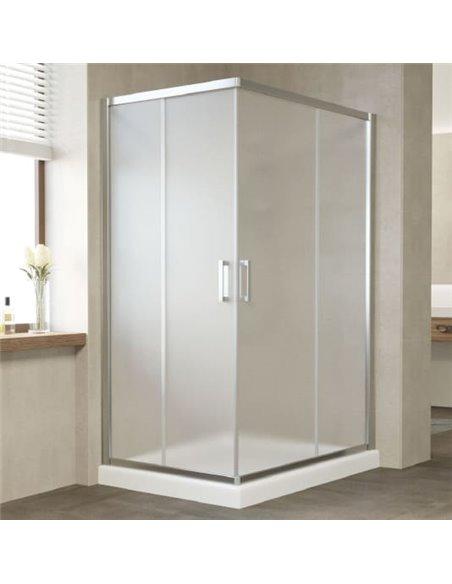 Vegas Glass dušas stūris ZA-F 120*80 08 10 - 2