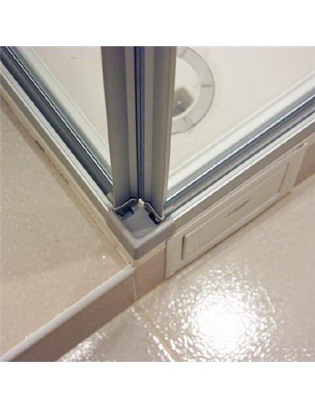 GuteWetter dušas stūris Practic Rectan GK-422 labā - 5