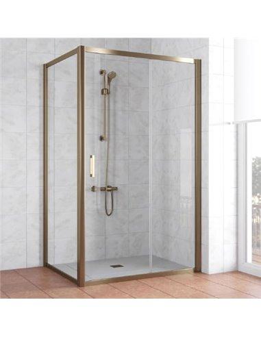 Vegas Glass dušas stūris ZP+ZPV 120*80 05 01 - 1